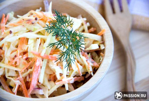 Салат коул слоу рецепт с фото